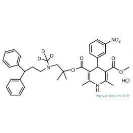 Lercanidipine-d3 hydrochloride