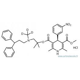 (s)-lercanidipine d3 hydrochloride