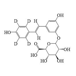 Resveratrol-3-O-D-Glucuronide D4